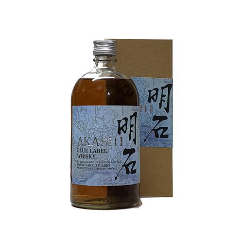 Akashi White Oak Blue Japanese Whisky Image